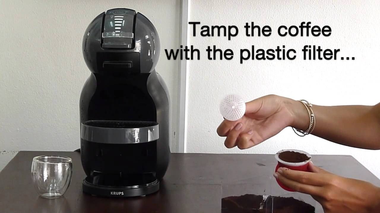 dolce gusto refillable capsule by cafecaps youtube. Black Bedroom Furniture Sets. Home Design Ideas