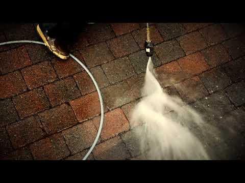 Evergreen Window Cleaning - Turbo Nozzle Pressure Washing