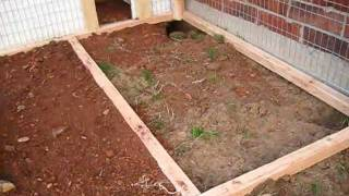 Homemade Rabbit Hutch