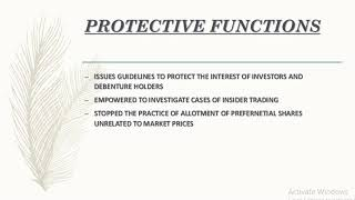POWER,OBJECTIVES AND FUNCTIONS OF SECURITY EXCHANGE BOARD OF INDIA SEBI