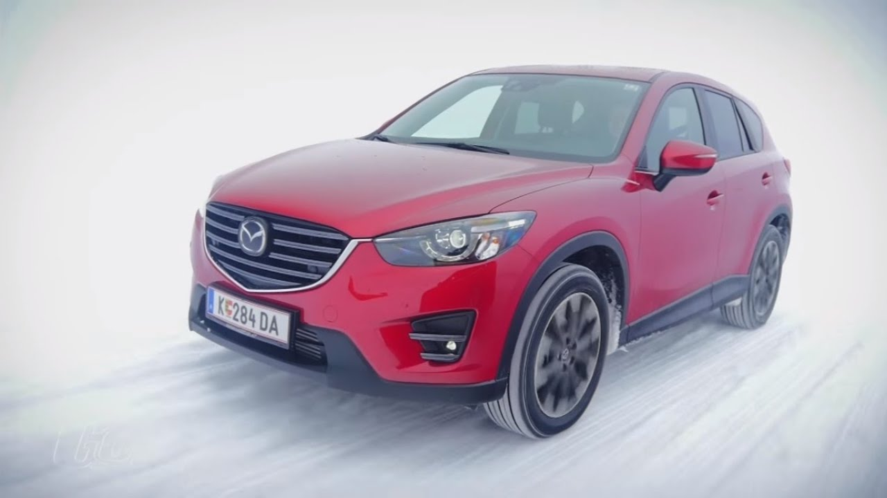 quer durch den schnee mazda cx 5 der test youtube. Black Bedroom Furniture Sets. Home Design Ideas