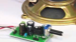 Одноканальный усилитель звуковой частоты AN7141