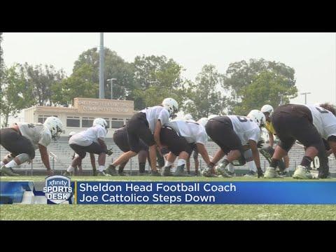 Sheldon Head Football Coach Steps Down