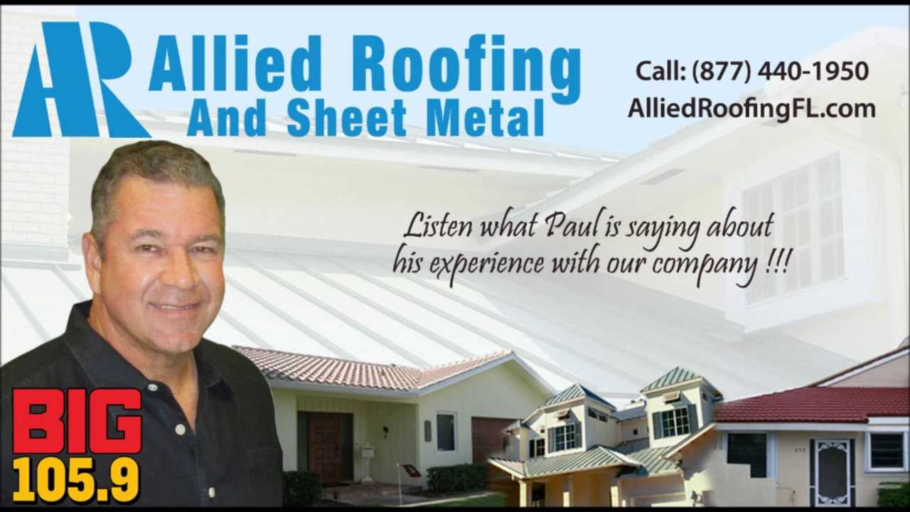 Roofing Company Fort Lauderdale   Paul Castronovo Review Part 2
