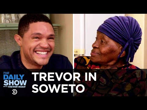 Trevor Chats with His Grandma About Apartheid and Tours Her Home, 鈥淢TV Cribs鈥�-Style | The Daily Show