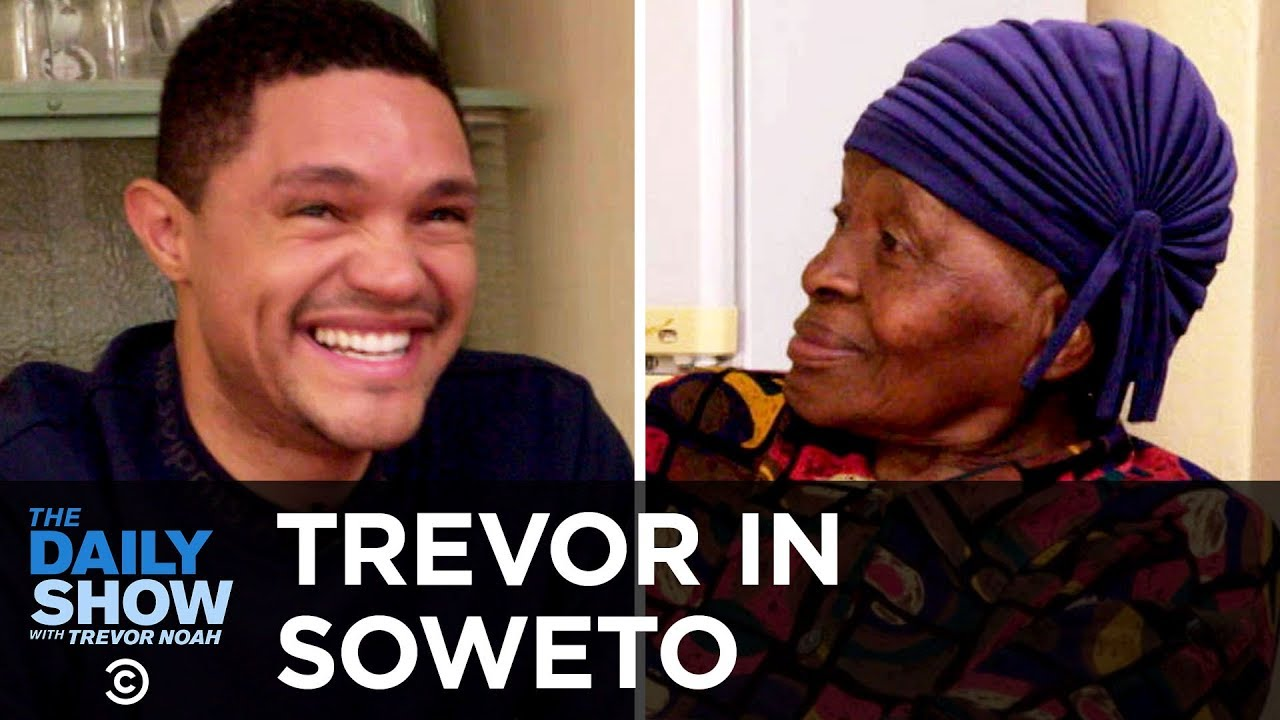"Trevor Chats with His Grandma About Apartheid In His Childhood Home ""MTV Cribs""-Style"