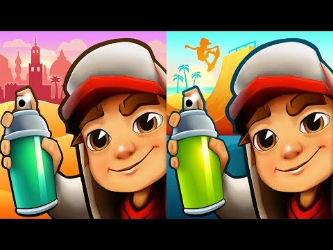 Subway Surfers Marrakesh 2018 vs Venice...