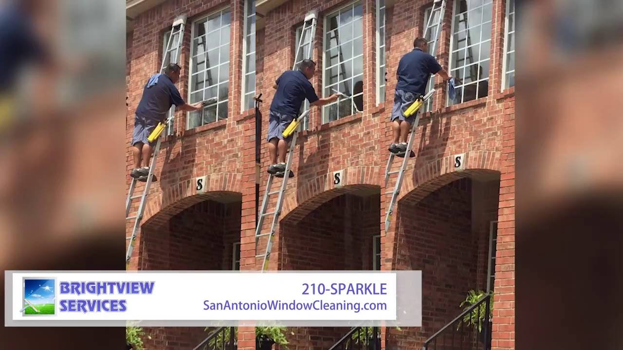 window cleaning san antonio antonio texas brightview services window cleaning power washing gutter in san antonio tx