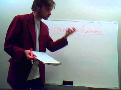 Intrinsic vs. Extrinsic Values