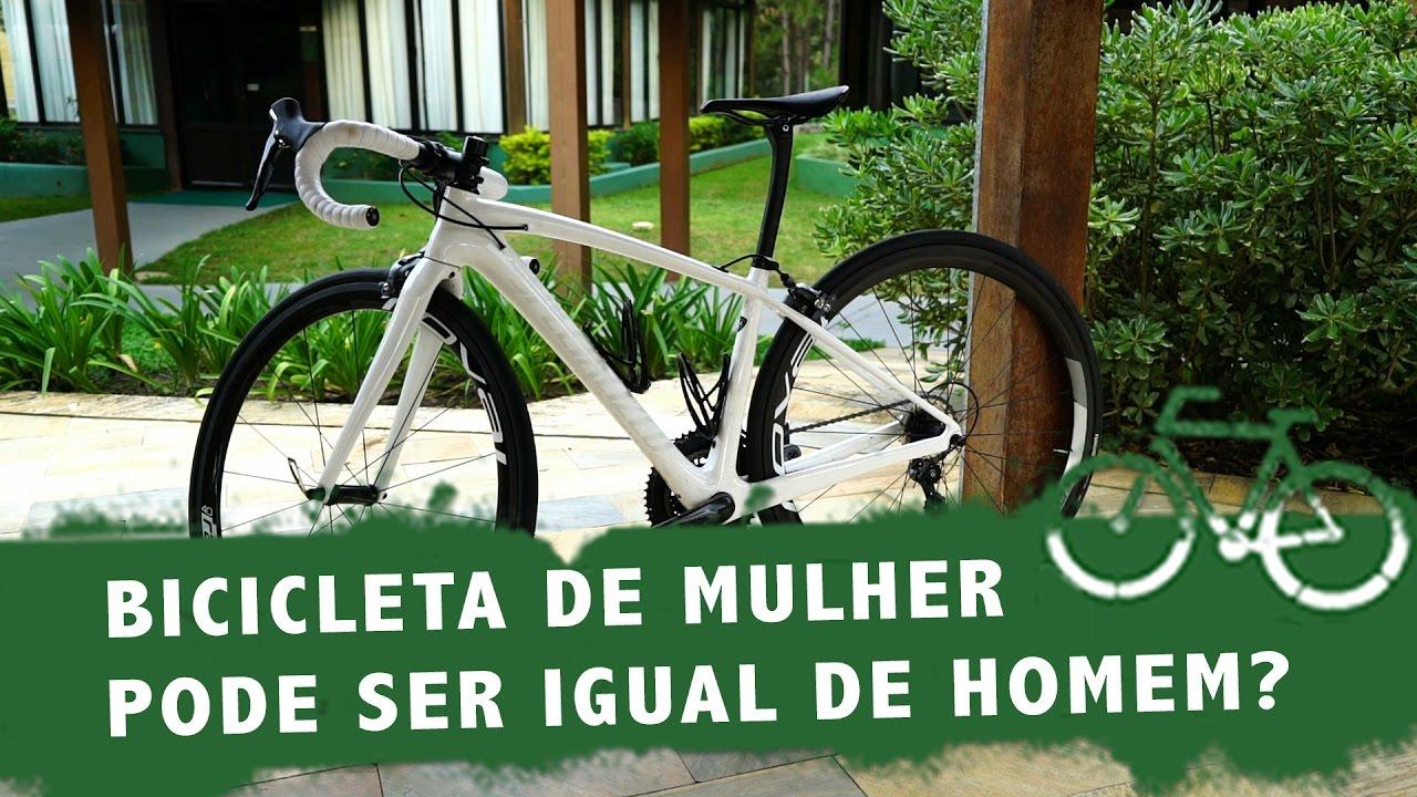 931bf0a356 Como usar uma bicicleta feita para mulheres faz a diferença - YouTube
