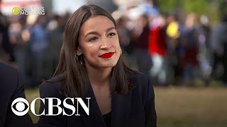 "Sanders endorsement is ""most authentic decision to let people know how I feel,"" AOC says"