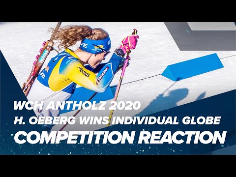 Antholz 2020: Oeberg Secures Individual Crystal Globe