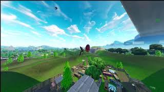 Crazy RARE Fortnite Glitch - Dancing On Glider