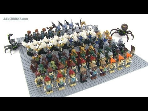 80+ LEGO Legends of Chima minifig collection! What to do?
