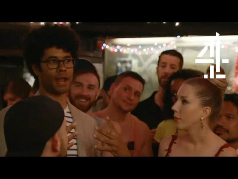 Richard Ayoade Does Not Know How To Sing Show Tunes With Katherine Ryan   Travel Man: 48 Hours In...