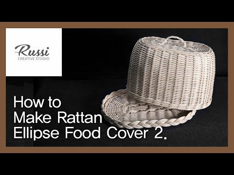 라탄 타원형 푸드트레이 만들기 [라탄공예] 취미 수업 온라인클래스 58:Rattan Craft : Make Rattan Ellipse food tray ,плетении
