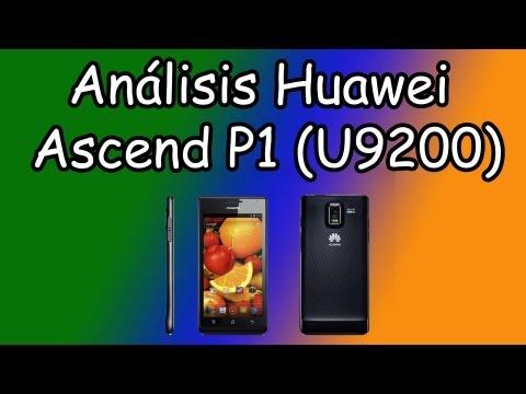Análisis Huawei Ascend P1 (U9200)