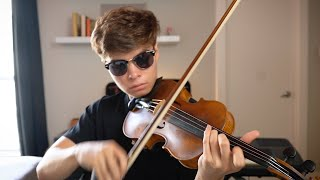 when you're a classical violinist but you listened to hip hop once