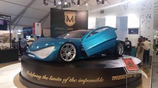 La Jadéite. 1er voiture sportive marocaine 100% électrique #cop22