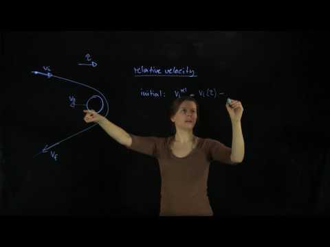 27.5 Worked Example: Gravitational Slingshot