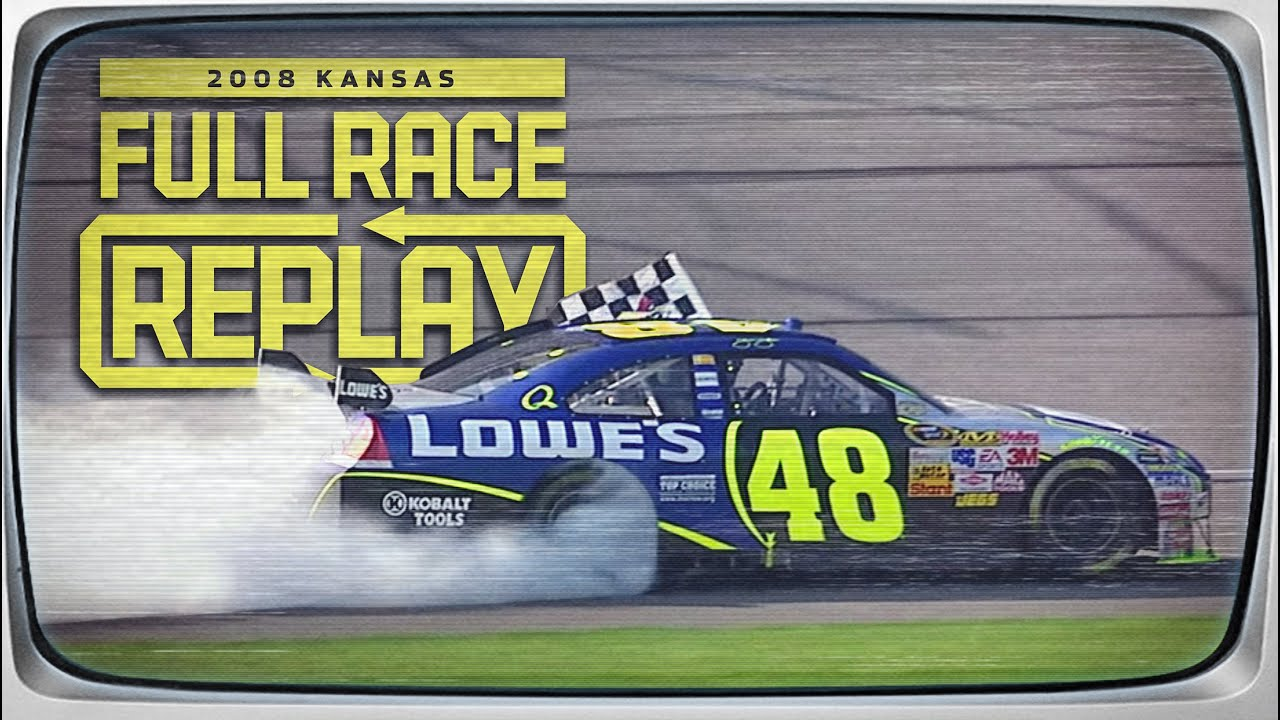 2008 Camping World RV 400 from Kansas Speedway | NASCAR Classic Full Race Replay