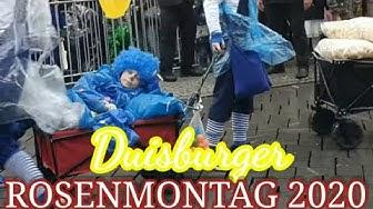 Der Rosenmontag Duisburg 2020    KARNEVALSZUG 2020