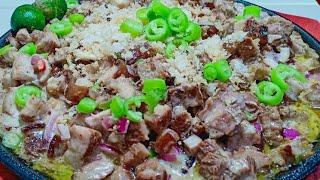 Sizzling Pork Belly Sisig | Swak Pang Pulutan | Kusina ni Inday | Vlog #60