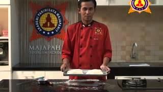 Praktek Resep Cara Membuat Italian Bread. Akpar Majapahit Surabaya