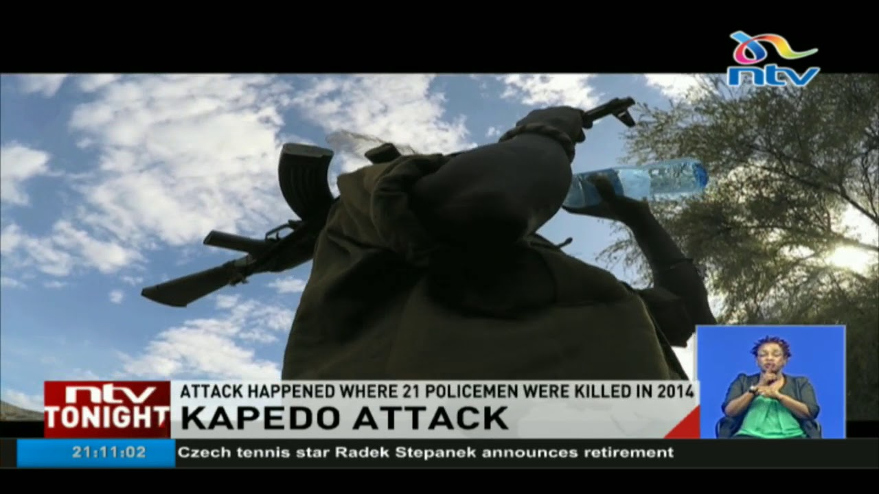Kapedo attack happened where 21 police officers were killed in 2014