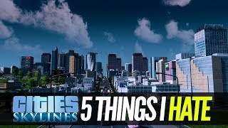 5 Things I Hate About Cities Skylines on Xbox One and PlayStation 4 - Cities Skylines PS4 & Xbox One