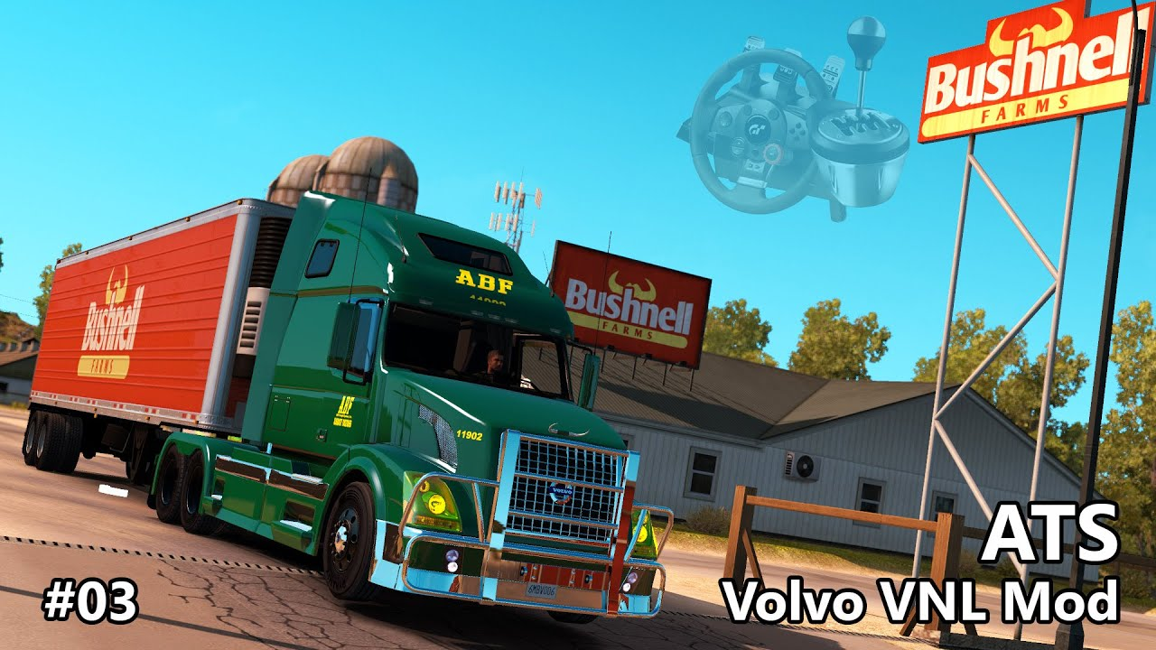 ATS #03 - Volvo VNL 670 ABF Freight System (American Truck Simulator) - YouTube
