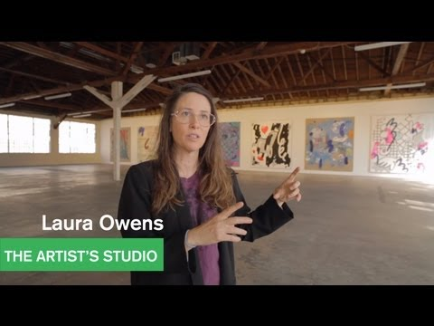 Laura Owens - 12 Paintings at 356 S. Mission Road - The Artist's Studio - MOCAtv