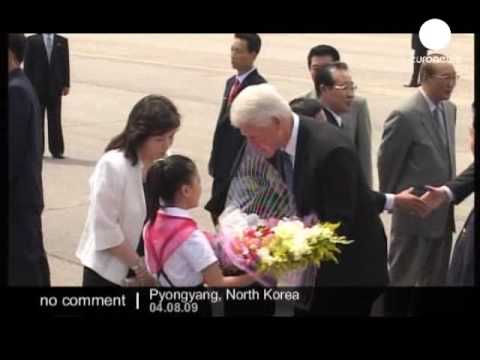 Clinton surprise trip to North Korea