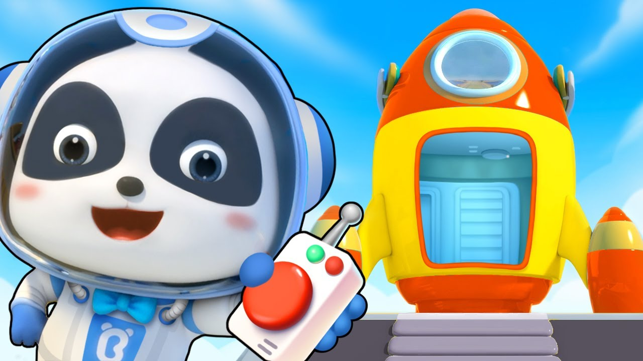 Little Astronaut in Space | Ambulance, Police Car, Fire Truck | Kids Songs | Kids Cartoon | BabyBus