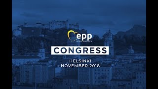 EPP Summit, 19 September 2018 - Leaders discussing the EPP Congress in Helsinki #Up2EU
