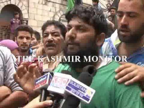 Kashmir unrest: Protests in Fateh Kadal agaisnt Irfan's killing