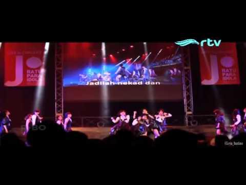 JKT48 - RIVER (REMIX VERSION) @ RTV Konser JKT48