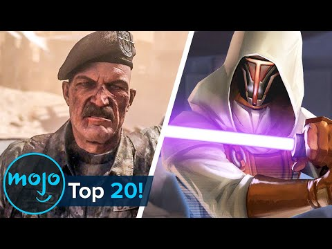 Top 20 Most Shocking Video Game Plot Twists Ever