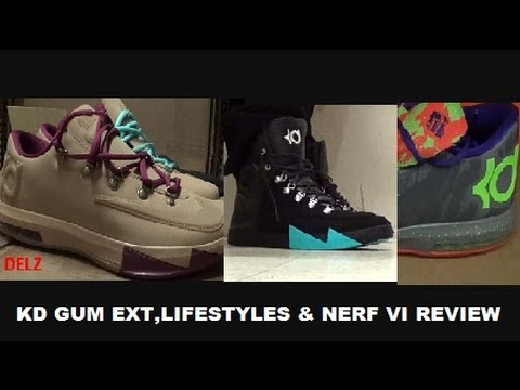 nike kd 6 vi gum ext amp gamma blue lifestyle sneakers on
