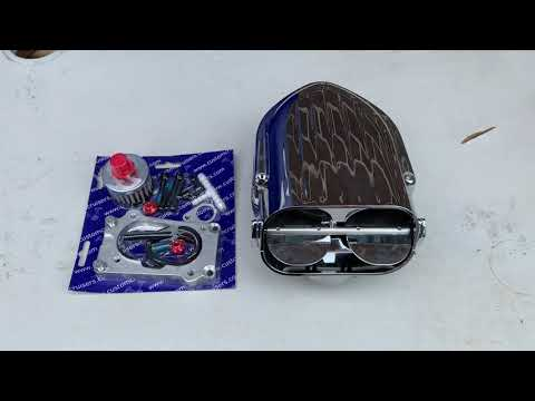 Kawasaki VN1700 Hypercharger Kuryakyn & Magnum air cleaner filter upgrade bhp gain  Custom Cruisers