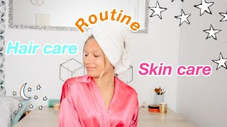 My Hair care/Skin care routine
