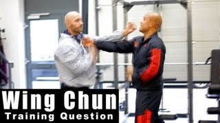 Wing Chun training - wing chun what is the centre line Q16