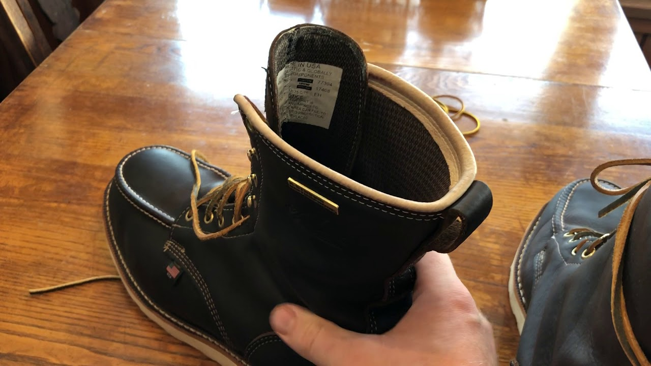 328803992af Thorogood moc toe 804-3800 review by WADDY 351
