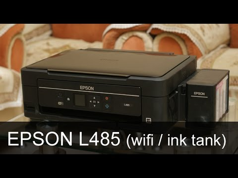 Epson L485 Review - best ink tank printer you can buy in India