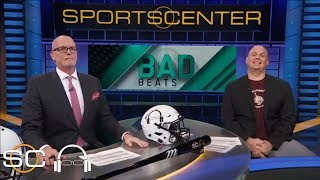 Bad Beats feature Northwestern men's basketball and Maine football | SC with SVP