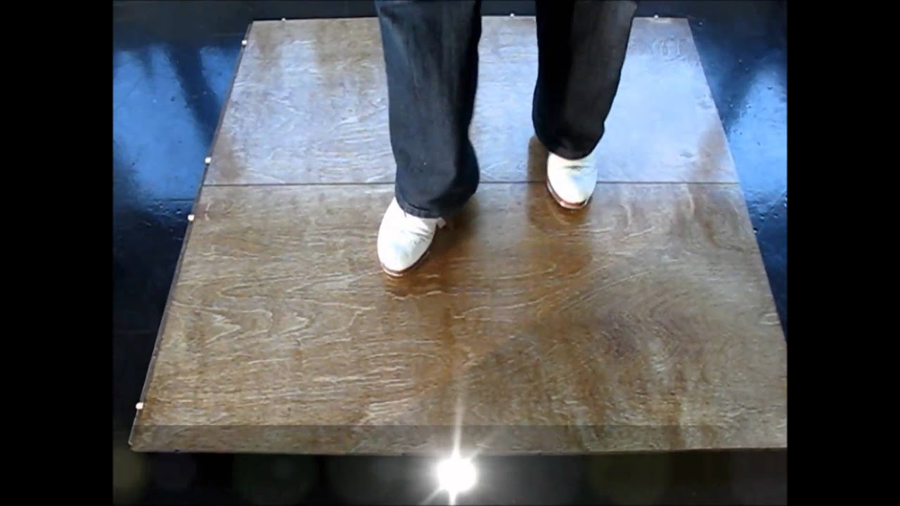 Portable Light Tap Dance Floor  NEW TAPPIN FLOORs 7
