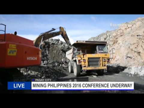 DAY 1 OF  MINING PH 2016 CONFERENCE WITH RON RECIDORO