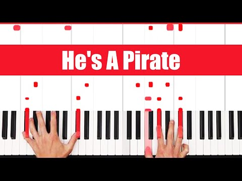 He's A Pirate Piano Tutorial - ORIGINAL