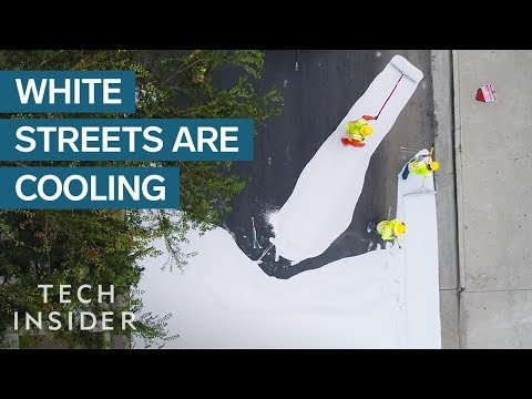 Why We Should Coat City Streets White