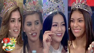 Sunday PinaSaya: Miss Earth 2018 winners try Filipino food